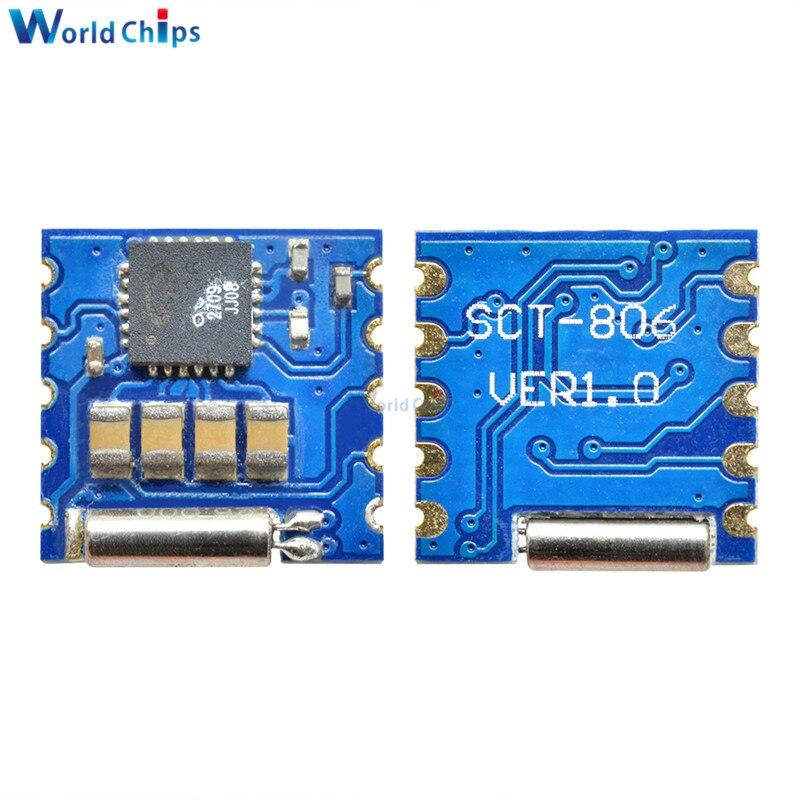 Diymore tea5767 fm programável de baixa potência módulo rádio estéreo 76 mhz 108 mhz baixo ruído rf entrada amplificador relógio placa cristal