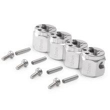 4pcs Alloy Toy Boys Parts Wheel Hub Set Screws Accessories Hex Cars RC Crawler Kids Replacement Dura