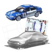 Équipe C FORD BTCC Mondeo 1/10 échelle Rc PC coquille de corps clair 258MM empattement pour RC dérive voiture sur route jouets électriques voitures modèles