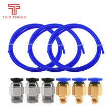 3D Printer parts 1M ptfe tube pipe connectors j-head hotend ID 1.9mm OD 4mm Cloned Capricornus Tube for Ender 3 CR10