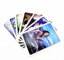 Cartas de Tarot de sirenas, cartas de oráculo del destino de Divination, juego de cartas de mesa, juego de mesa de juegos fascinantes para fiesta familiar