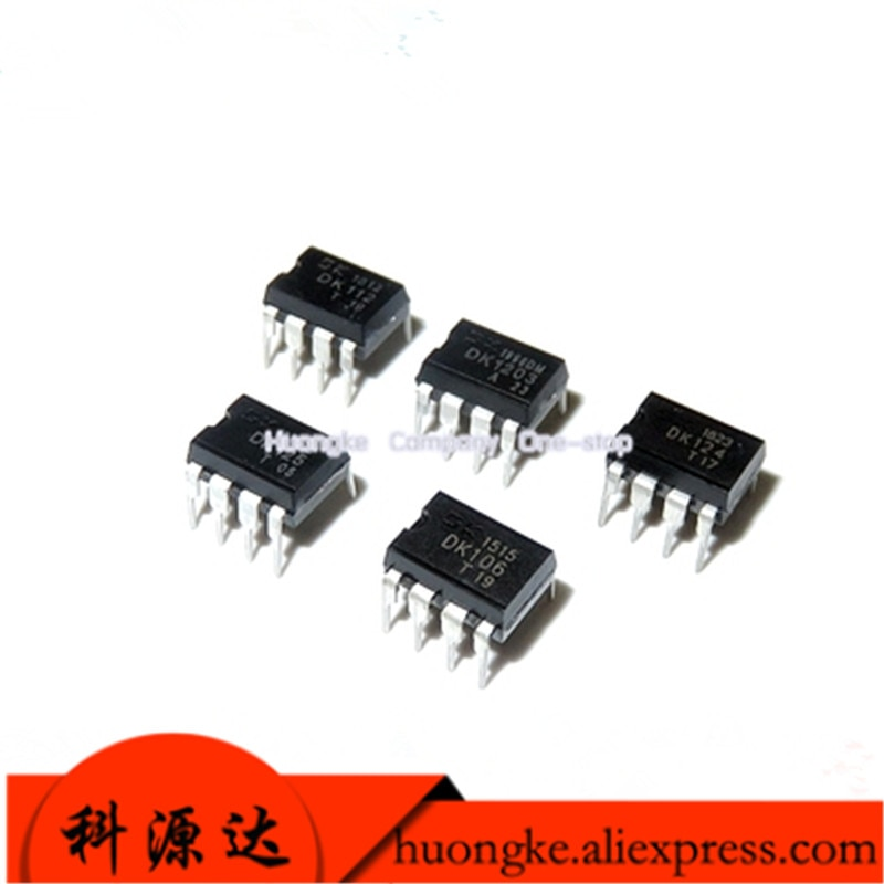 10 unidades/lote, DK106 DK112 DK124 DK125 DK1203, controlador de fuente de alimentación conmutada, chip