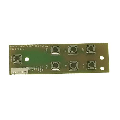 Módulo Botonera 200.gjk-CX-2418A-KEY, Smart Tech LE-2219DTS