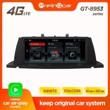 Prelingcar Android 9.0 pour BMW série 5 GT F07 2010 11 12 13 14 15 16 CIC NBT autoradio Audio radio multimédia lecteur vidéo gps