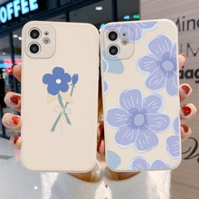 Lens Protection Case For iPhone 11 Capa Flower Cover Soft Cover iPhone 11 12 Pro Max X XR XS 7 8 Plu