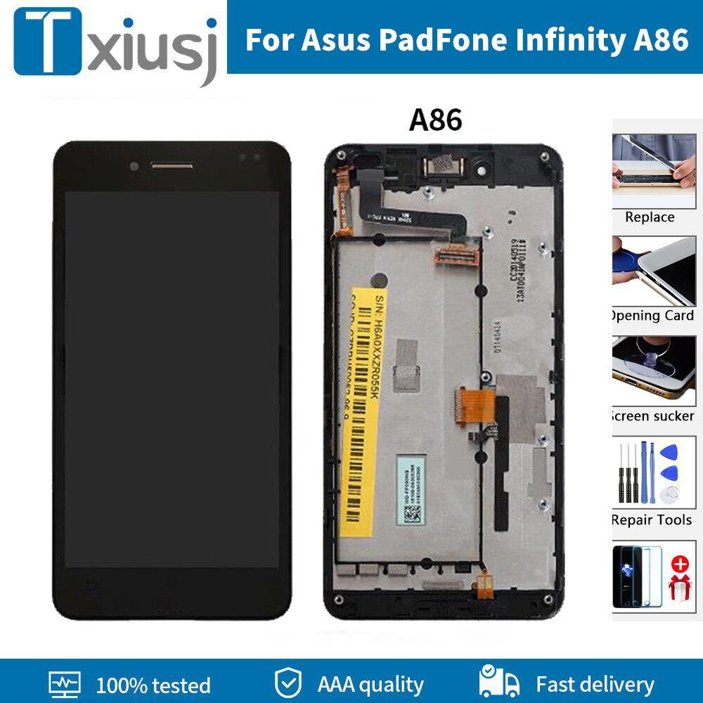 Pantalla LCD + marco Original para Asus PadFone Infinity A86, montaje de...