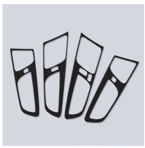 4pcs Stainless Steel Car Inner Door Handle Bowl Frame Cover Molding Trim Stickers For Volvo XC60 2018 2019 2020 Auto Accessories enlarge