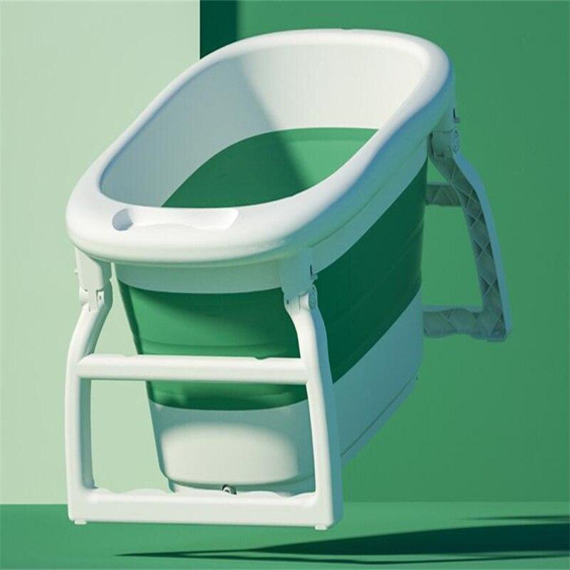 2021 Newest   Large Folding Bath Tub   Baby Swimming Bucket   Household Bathtub