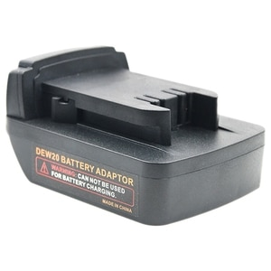 Battery Adapter for Dewalt DCB200 DCB205 Li-Ion Battery to for M18 Battery Adapter Current Converter
