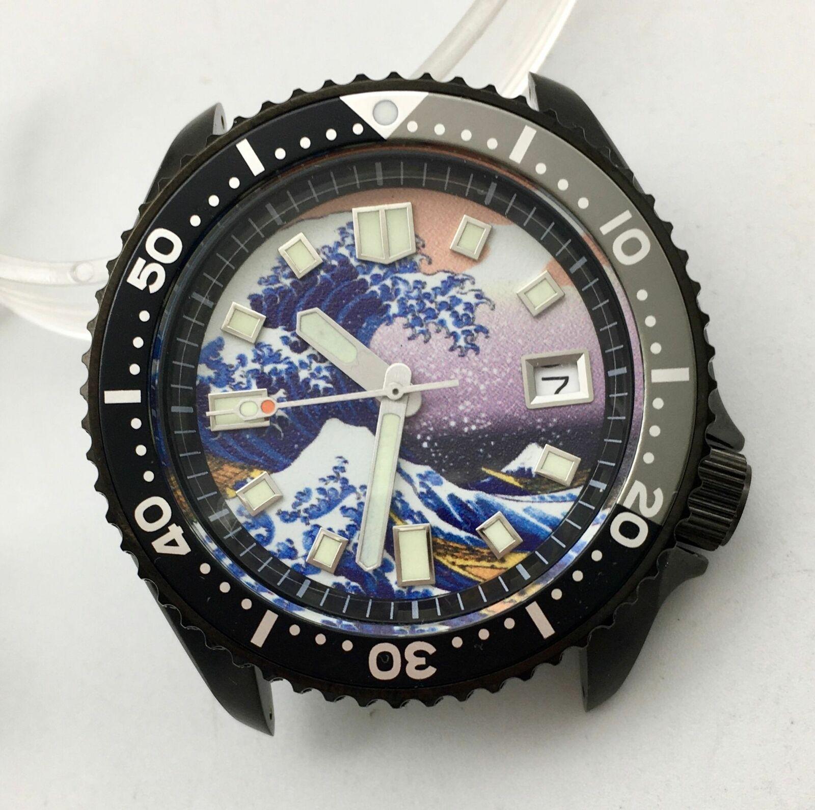 42MM Fashion Men's Watch SK007 Black PVD Case Strong Luminous Dial NH35 Automatic Watch Men's Watch Mechanical