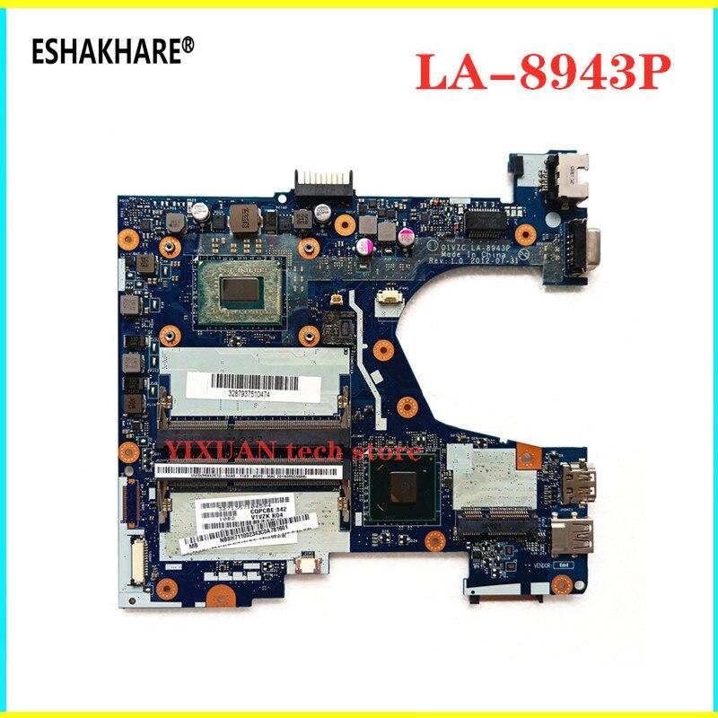Q1VZC LA-8943P для acer Aspire C710 V5-131 Материнская плата ноутбука 1007 Процессор NB. M8911.004 NBSH7110023 Q1VZC LA-8943P 100% полностью протестирована