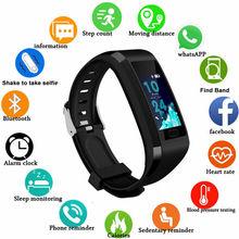 118 Plus Smart Bracelet Smart Watch Fitness watch Tracker Sleep Monitor Weather Forecast Smart Bracelet Waterproof Smartband GPS