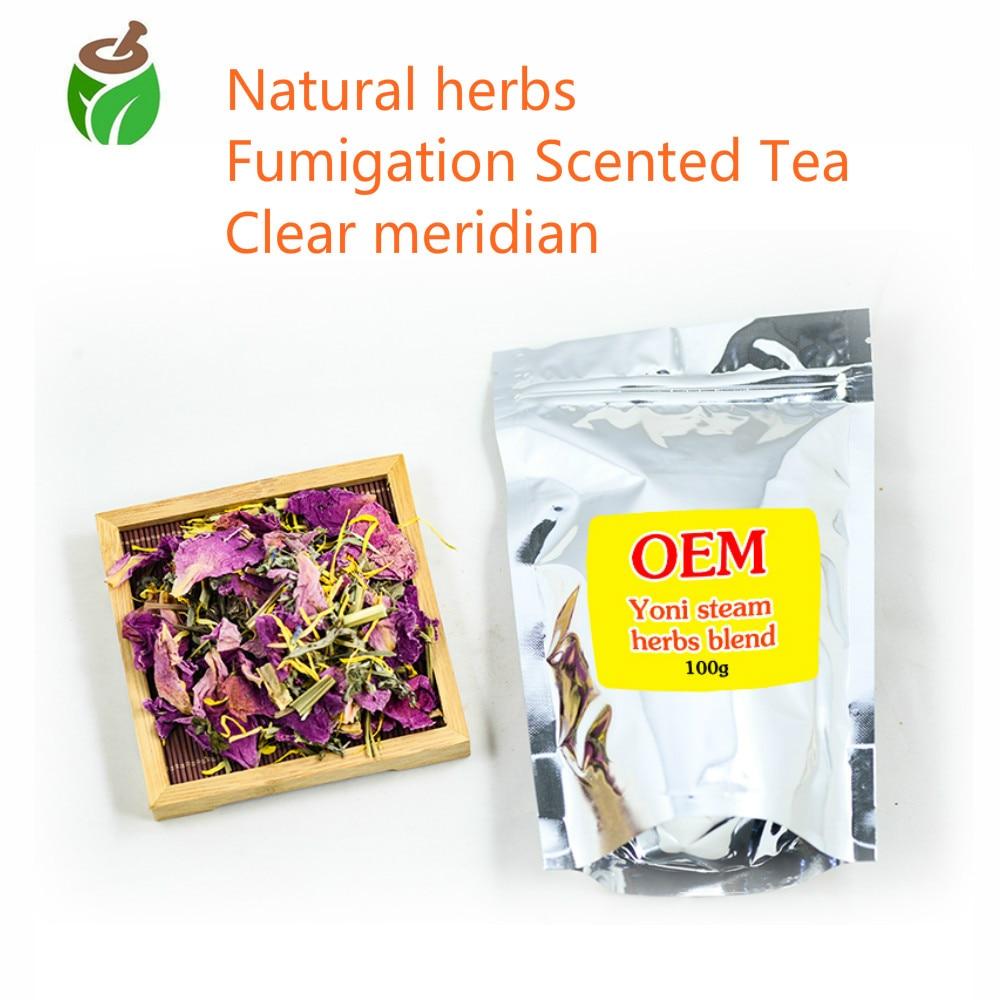 2 paquetes de té al vapor para aliviar el dolor Menstrual desodorante anticomezón e inflamación mezclas a base de hierbas yoni-vapor flor vapor