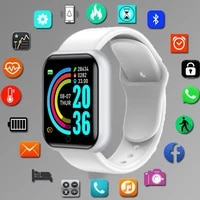 hot sale y68d20 smart watch men women blood pressure fitness tracker waterproof heart rate monitor smartwatch for ios android