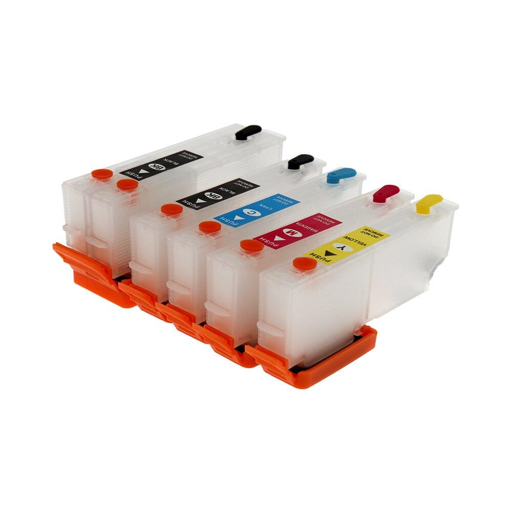 Für Epson T3351 33XL Nachfüllbare Tinten Patronen für Epson XP-530 XP-630 XP-830 XP-635 XP-540 XP-640 XP-645 XP-900 drucker