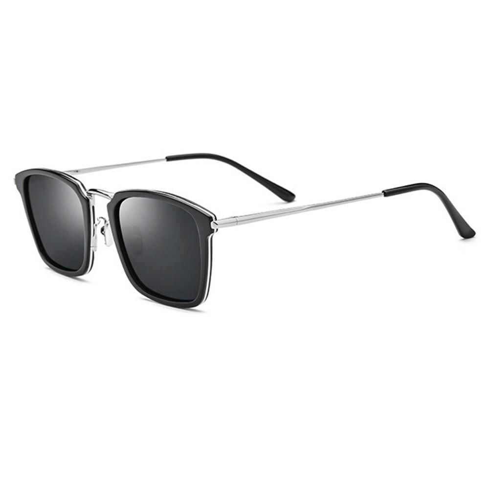 نظارة شمسية مستقطبة موديل 2021 باللون الأسود/البني/الأخضر تأتي مع صندوق الحجم: 51-20-140cm