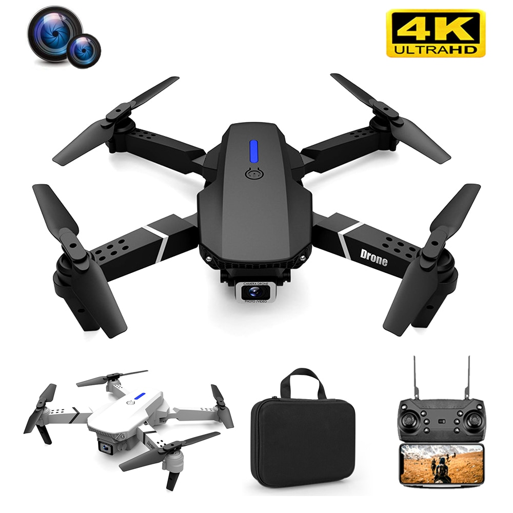 Mini Drone 4K Professional HD FPV RC Dron Quadcopter with NO/1080P/4K Camera ufo Drones Flying Toys for Boys Teens Child