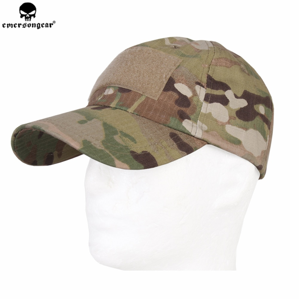 Emersongear Tactical Baseball Cap Outdoor Hunting Fishing Cycling Baseball Hat Airsoft Millitary Army Sun Hats Multicam Camo Cap