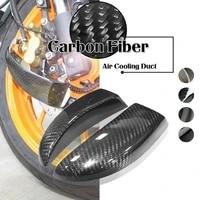 carbon fiber air ducts brake cooling mounting kit ducts system for for ducati panigale v4 v4s v4r streetfighter v4 1100