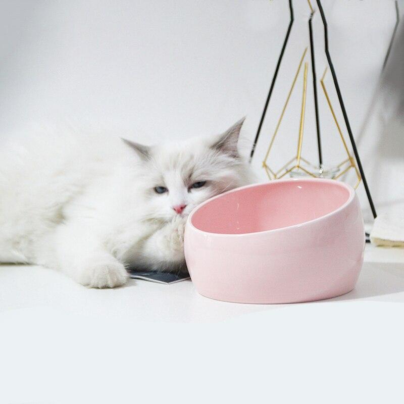 Alimentador de gato encantador, tazón para comida de perro, cuenco, contenedor, alimentación...