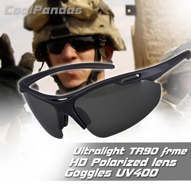 Ultralight Sports Polarized Sunglasses For Men Driving Sun Glasses Military Male Anti-UV Outdoor Gog