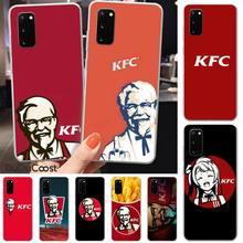 LJHYDFCNB KFC DIY Luxury Phone Case For Samsung S5 6 7 8 9 10 S8 S9 S10 plus S10E lite S10-5G S20 UITRA plus