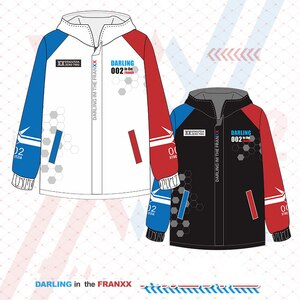 Anime Hoodies DARLING in the FRANXX Zero Two 002 Cosplay Top Coat Long Sleeve Sweatshirt Men Women Jacket Casual Pullover Hoodie
