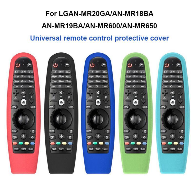 Magie TV Fernbedienung Fällen Silikon Schutzhülle Stoßfest Fällen Abdeckung Für LG AN-MR600 AN-MR650 AN-MR18BA MR19BA MR20GA