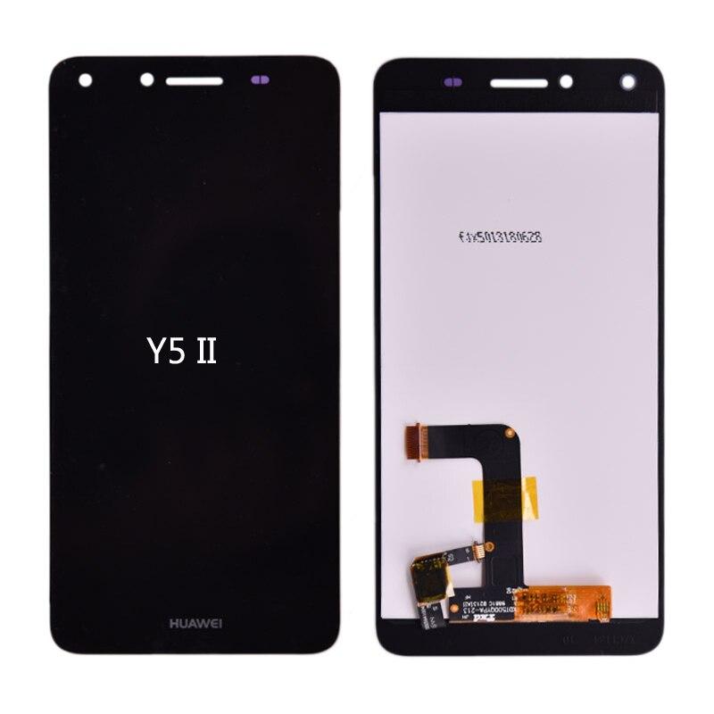 Para Huawei Y5 II Y5II CUN-L23 CUN-L03 CUN-L33 CUN-L21 pantalla LCD con montaje de digitalizador con pantalla táctil envío gratuito