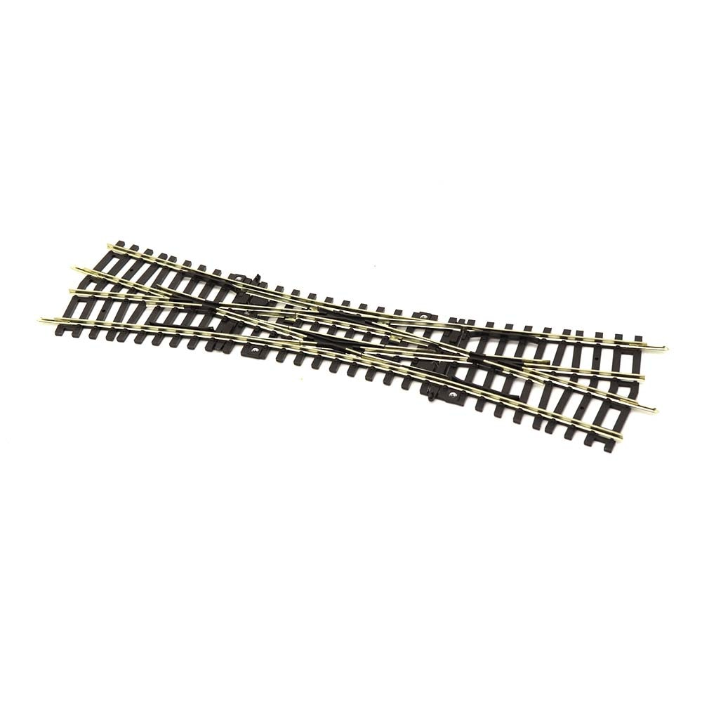 HO Model Railway Train Double Track Model 1 87 DKW Railroad Track Toy Cossing Turnout Building Train Accessories for Diorama voter turnout