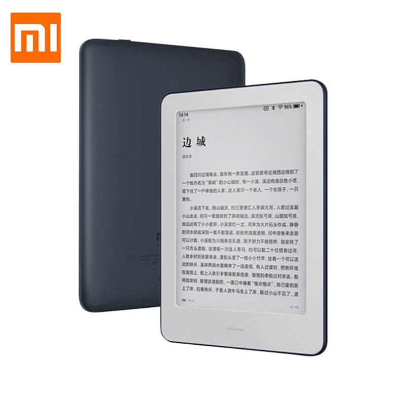 Xiaomi MiReader Tablet 1GB RAM 16GB ROM inteligente oficina 6 pulgadas Touch HD de E-ink Tablet Ebook Reader Android 8,1 Tablet