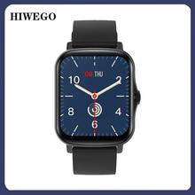 HIWEGO 2021 New Smart Watch Y20 Plus 1.7 Inch Men's Full Touch Tracker Ip68 Ladies Montre Smartwatch