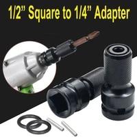 12 inch drive to 14 inch hexagonal rod chuck adapter converter drill bit socket wrench socket adapter artisan ratchet wrench