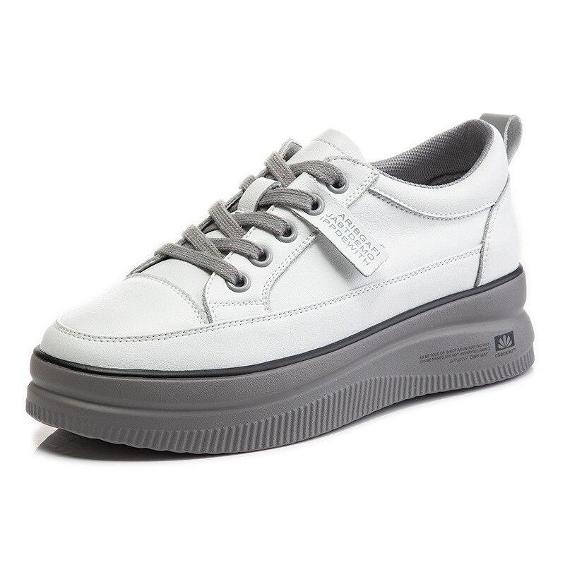 أحذية النساء 2021 منصة الموضة الجديدة جلد طبيعي حذاء كاجوال أحذية رياضية نسائية عالية الجودة موضة أحذية رياضية النساء حذاء رياضة