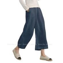 Femmes Style chinois lin coton Kung Fu pantalon ample Hanfu bas Tang costume japonais Kimono jambe large pantalon Tai Chi uniformes