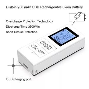 Mini Digital laser distance meter Rechargeable Measure 98 Ft/30M Home Use Measurement Tool 0.03-30m rangefinder Drop Shipping
