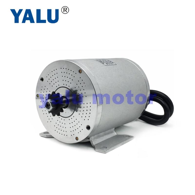 YALU BM1109 2500W 60V Brushless Electric Battery powered wheels car Driver Engine BLDC Motor For Go-cart Mobility Scooter Kit