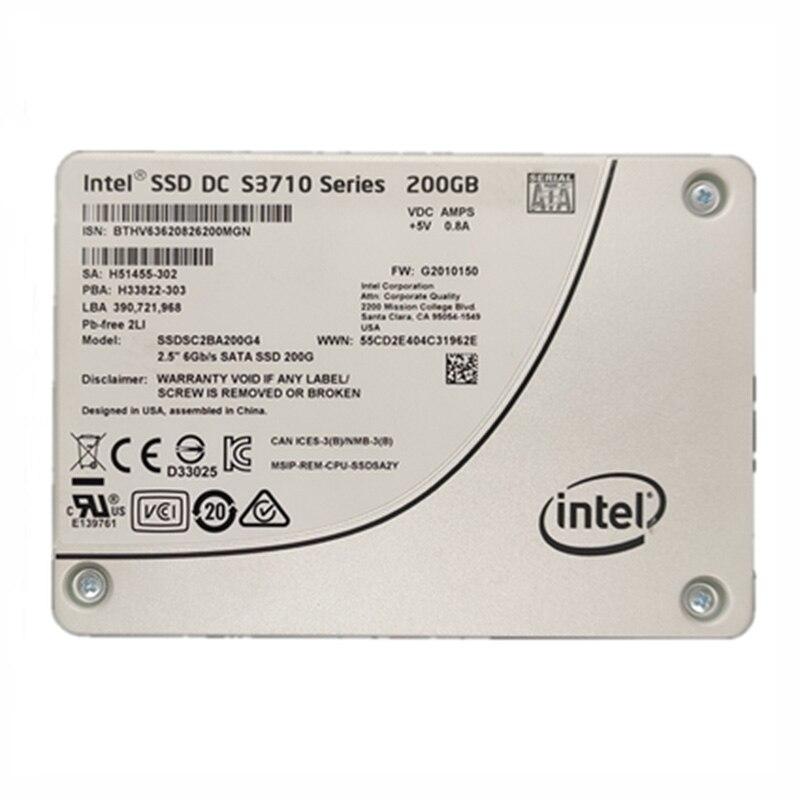Intel S3710 200 GB DC SSD سلسلة MLC PCIE NVMe 2.5