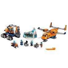 Arktischen Liefern Flugzeug Kompatibel Legoe Stadt Arctic Expedition 60196 Bausteine Ziegel Modell spielzeug für Kinder kid geschenk