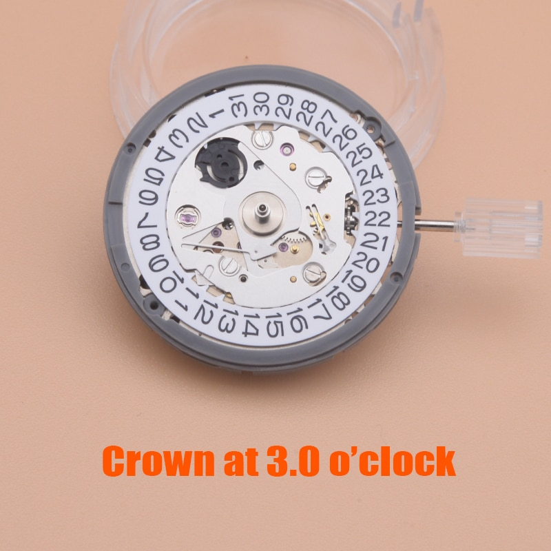 Automatic Movement Kanji nh35 nh36 Movement crown at 3.8 fit for seiko SKX SPRD SPRE Diving Watch New Balance Man Watch Repair enlarge