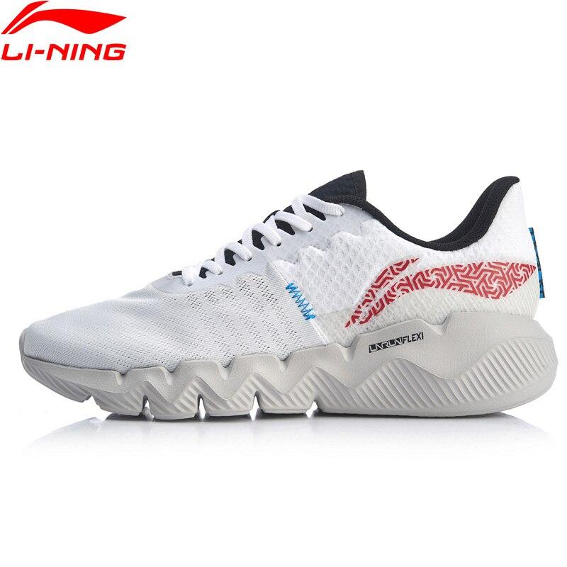 Li-Ning Men FLEX Smart Moving Running Shoes Breathable Flexible LiNing li ning Fitness Sport Shoes Sneakers ARKQ007
