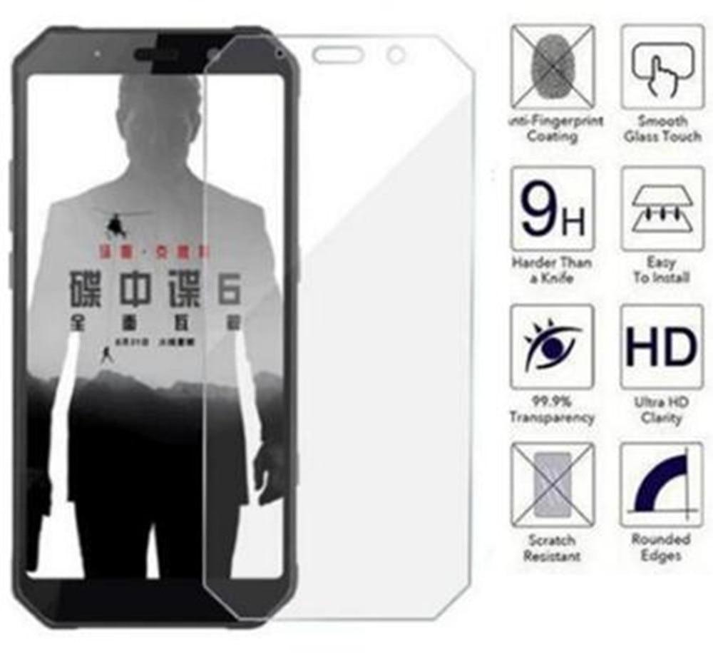 Vidro temperado para agm h1 a9 a8 h2 a10 vidro 9h 2.5d película protetora à prova de explosão claro protetor de tela capa de telefone