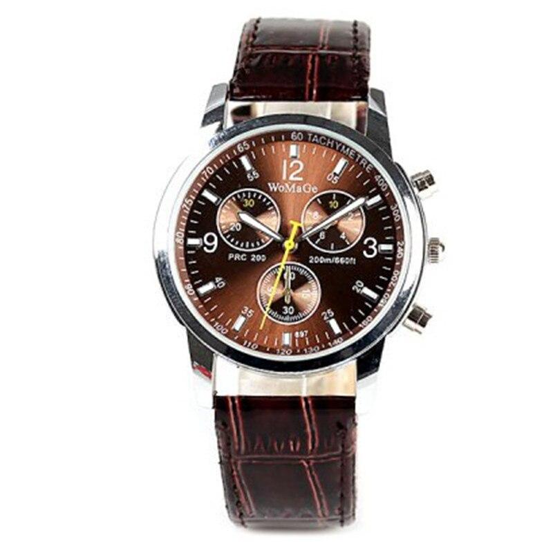 Reloj masculino reloj deportivo de acero inoxidable de moda para hombre reloj de pulsera de cuarzo de negocios reloj de pulsera reloj para hombre D7