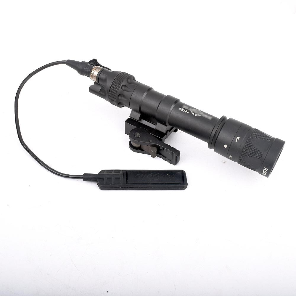 New tactical flashlight M622V scout constant/instantaneous strobo scopic light white light rifle Pic
