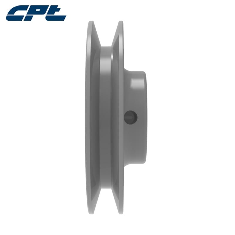 "CPT BK27 BK Pulley Gusseisen B Gürtel Bohrung v gürtel pulley scheibe, 1 Nut, bohrung 1/2 "", 5/8"", 3/4 "", 7/8"", 1 "", 1-1/8"", 2.85 ""OD"