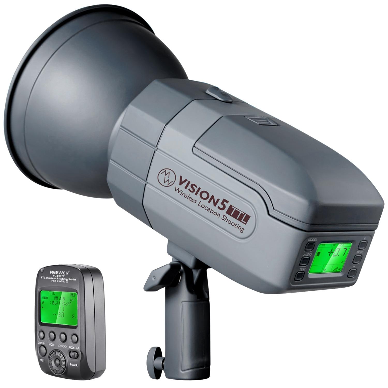 Ttl para Canon Hss ao ar Estroboscópio com Sistema de 2.4g e Gatilho sem Fio Neewer Livre Estúdio Flash Vision5 400w