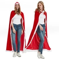 christmas costume adult christmas cloak coat little red riding hood christmas cloak childrens party stage costumes cloak cape