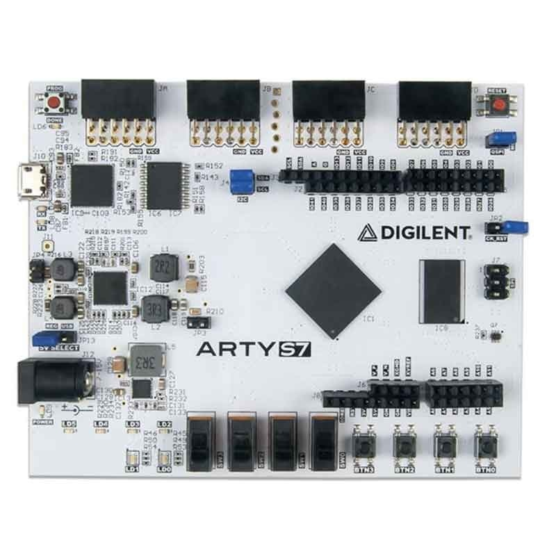 1 pcs x Arty S7 Spartan-7 FPGA for Hobbyists and Makers Development Board S7-25T or S7-50T