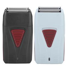 Men's Electric Double Blade Shaver, Cordless Rotary Blade, USB Rechargeable Shaver, Hairdresser's Cu