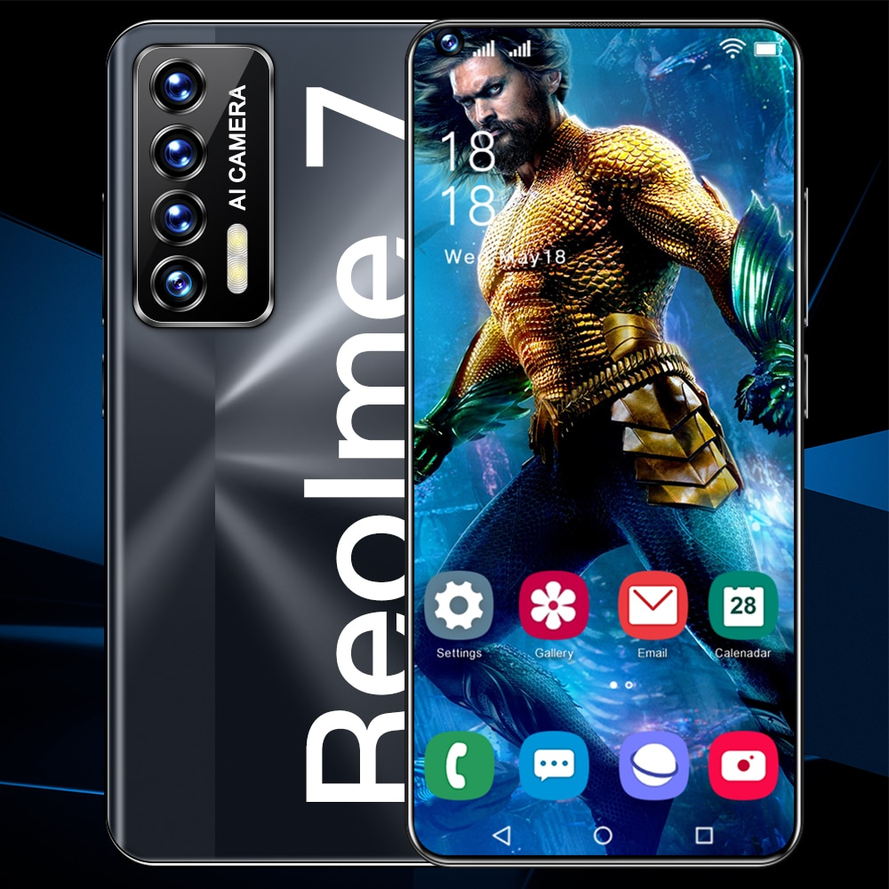 الهاتف الذكي Reolme 7 Qualcomm 888 16GB 1T 7.3